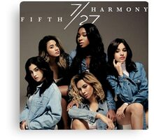 FIFTH HARMONY 7/27 trending poster Canvas Print