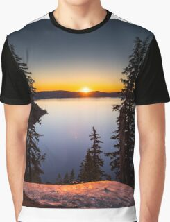 Sunrise at Crater Lake Graphic T-Shirt
