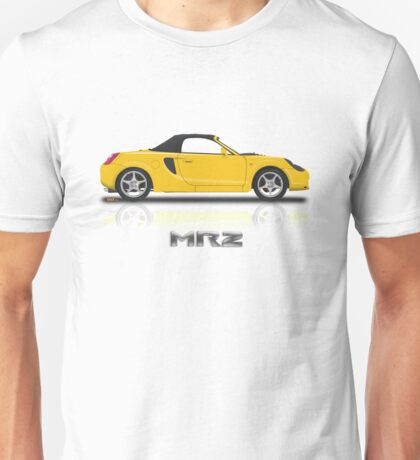 Toyota MR2 Roadster - Yellow Unisex T-Shirt