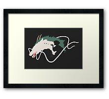 Spirited Away: Haku Framed Print