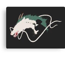 Spirited Away: Haku Canvas Print