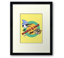 The Regular Show Framed Print