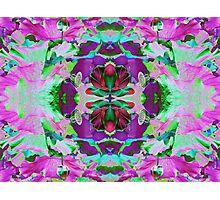 Psycho Exotic, Lotus Flower Photographic Print