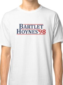 Bartlet and Hoynes 1998 Classic T-Shirt