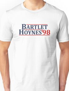Bartlet and Hoynes 1998 Unisex T-Shirt