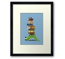 Monsieur Caterpillar Framed Print