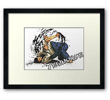 Jiu-Jitsu Bjj Martial Arts Framed Print