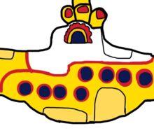 A Yellow Submarine Sticker