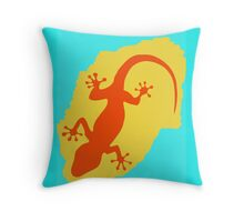 Lizard Lizard Throw Pillow