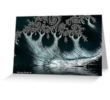 Moonlit Reflections Greeting Card
