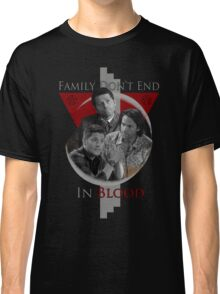 Supernatural Family Don't End in Blood v1.0 Classic T-Shirt