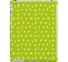 kiwi fruit green pattern iPad Case/Skin