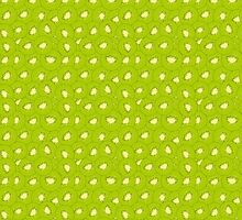 kiwi fruit green pattern by Hipatia