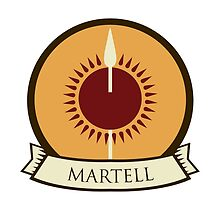 Game of Thrones - House Martell by housegrafton