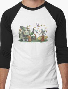 Robo-Buddies Men's Baseball ¾ T-Shirt