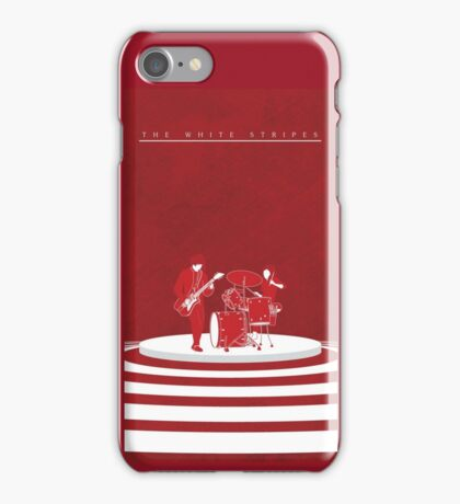 The White Stripes Tall iPhone Case/Skin