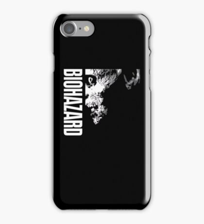Resident Evil - 20th Anniversary Japanese Minus Anniversary Text iPhone Case/Skin