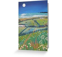 Summer's Night by the Sea Greeting Card
