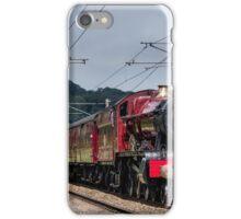 Hogwarts Castle in steam iPhone Case/Skin