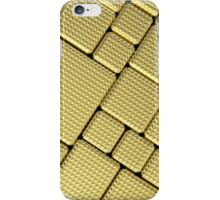 Cool gold parts bricks,digital photo manipulated,contemporary iPhone Case/Skin