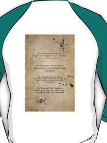 Moony Wormtail Padfoot and Prongs T-Shirt