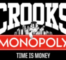 CROOKS/MONOPOLY - TIME IS MONEY Sticker