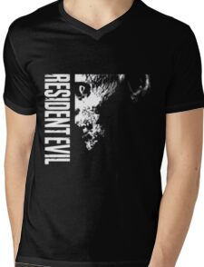 Resident Evil - 20th Anniversary Minus Anniversary Text Mens V-Neck T-Shirt