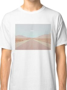 Endless Deserted Road Classic T-Shirt