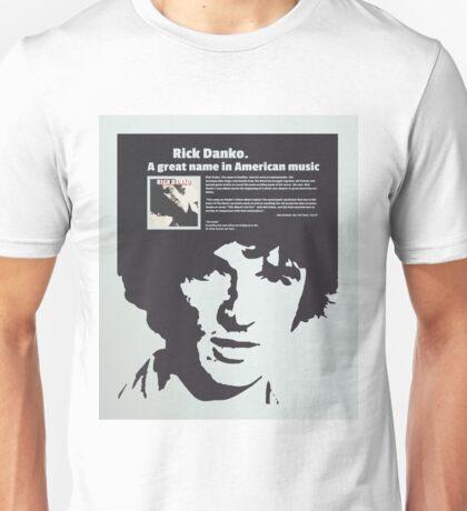 Rick Danko Poster Unisex T-Shirt