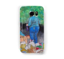 """Bob, at the winery concert"" Samsung Galaxy Case/Skin"