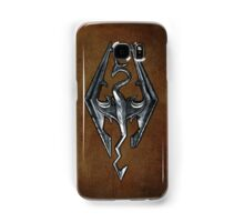 Skyrim Worn Leather Symbol Samsung Galaxy Case/Skin