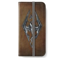 Skyrim Worn Leather Symbol iPhone Wallet/Case/Skin