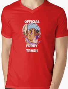 Official Furry Trash Mens V-Neck T-Shirt