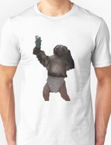 Puppy-Monkey-Baby Unisex T-Shirt