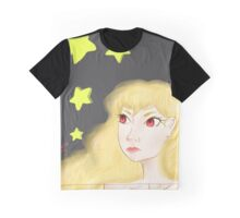 Stars Girl Blond Graphic T-Shirt