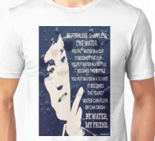 Words Of Wisdom Blue Water Unisex T-Shirt