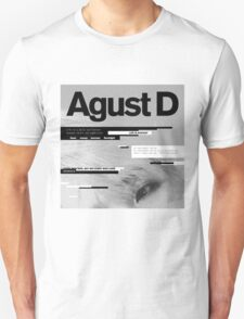 SUGA - AGUST D  Unisex T-Shirt