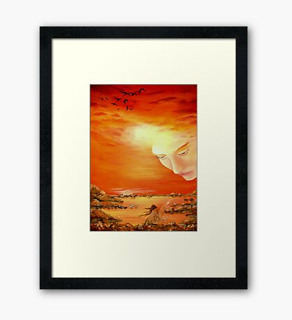 Heavenly Protection Framed Print