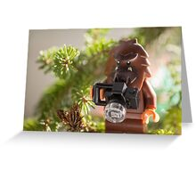 forest photographer Greeting Card