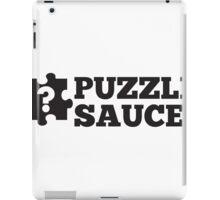 Puzzle Sauce iPad Case/Skin