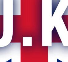 UK Heart England Love Sticker