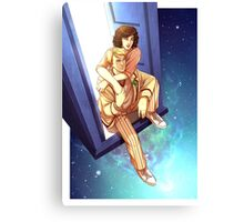 From the TARDIS Canvas Print