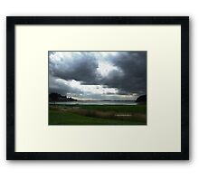 Thunderous clouds Framed Print