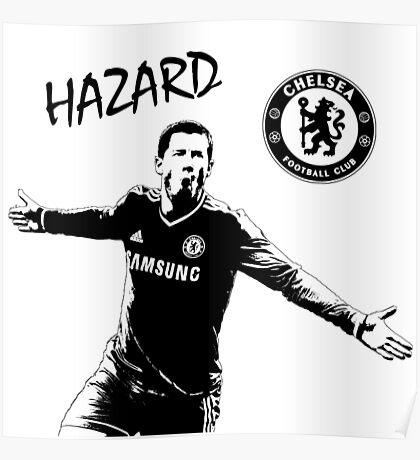 Eden Hazard - Chelsea Poster