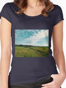 Open Skies Women's Fitted Scoop T-Shirt