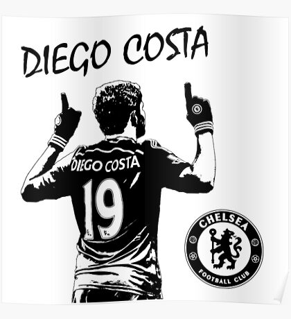 Diego Costa - Chelsea Poster