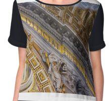 Vatican Chiffon Top