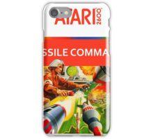 Atari Missile Command iPhone Case/Skin