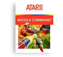 Atari Missile Command Canvas Print