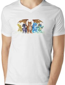 Wings of Fire Main Five Mens V-Neck T-Shirt
